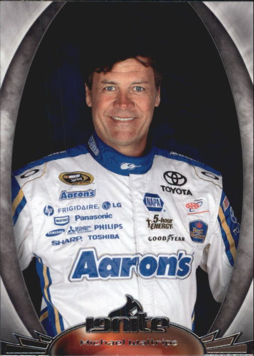 2012 Press Pass Ignite #35 Michael Waltrip