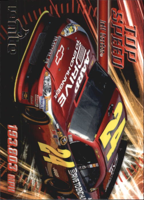 2012 Press Pass Ignite #56 Jeff Gordon's Car TS