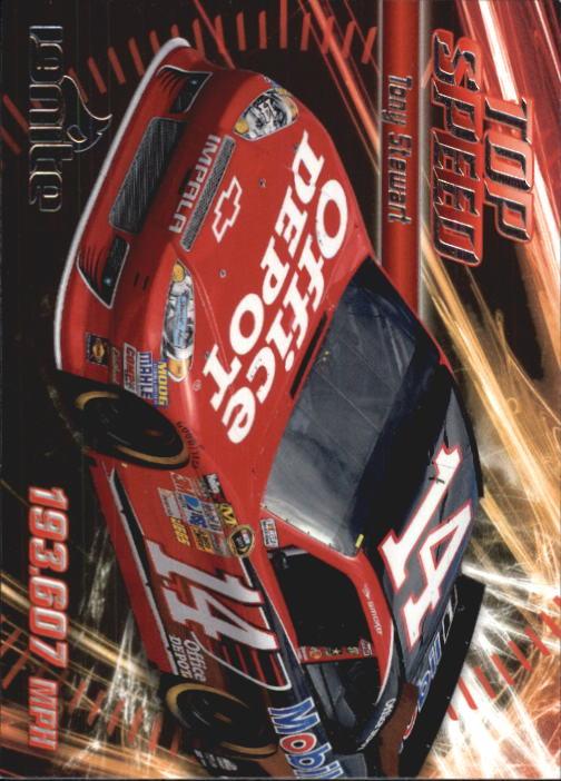 2012 Press Pass Ignite #60 Tony Stewart's Car TS