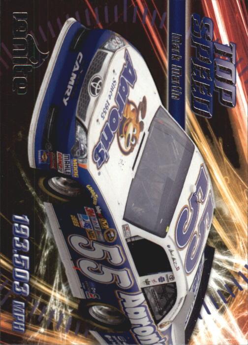 2012 Press Pass Ignite #61 Mark Martin's Car TS