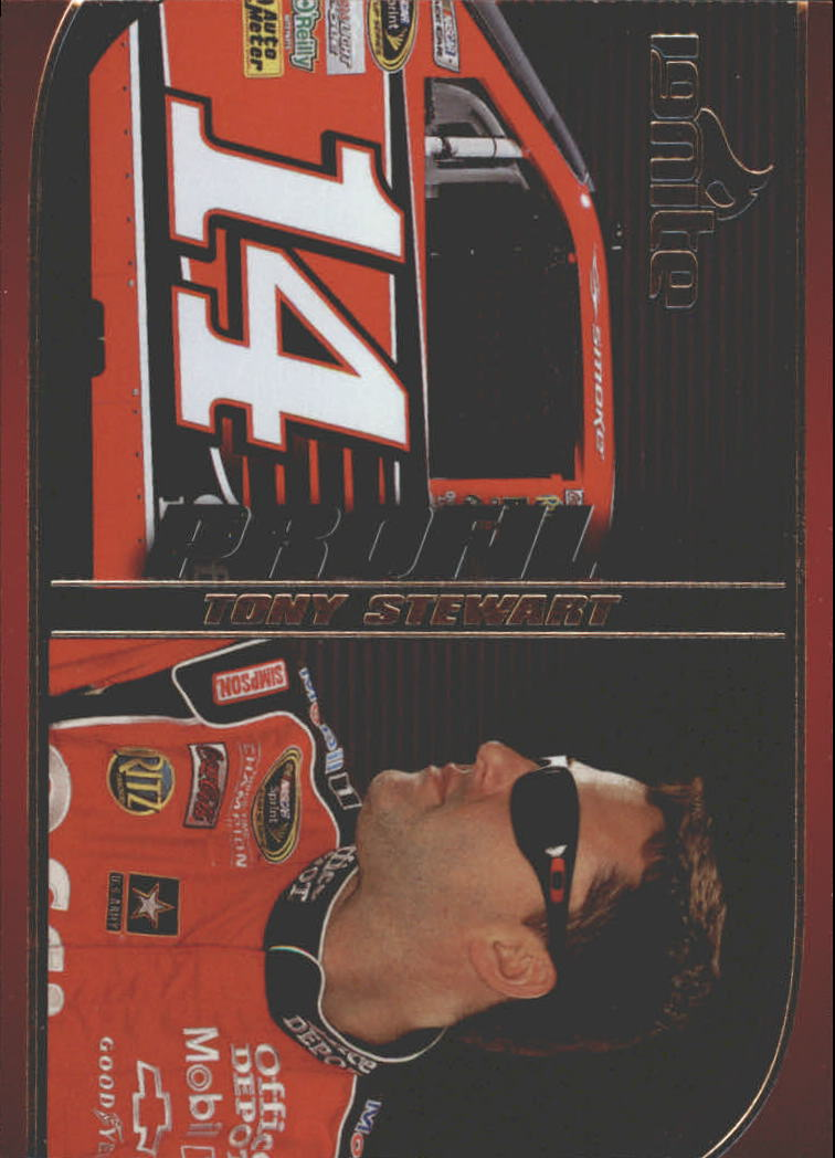 2012 Press Pass Ignite Profile #P9 Tony Stewart