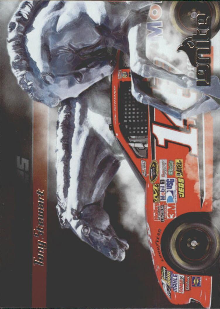 2012 Press Pass Ignite Steel Horses #SH4 Tony Stewart's Car