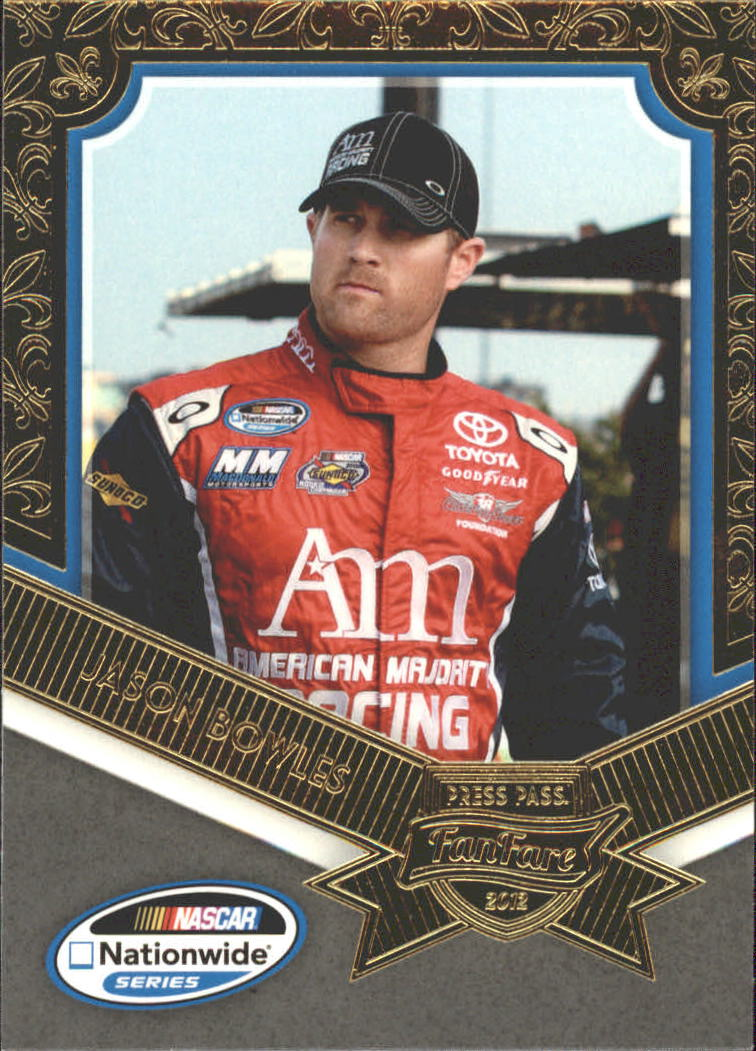 2012 Press Pass Fanfare #46 Jason Bowles NNS RC