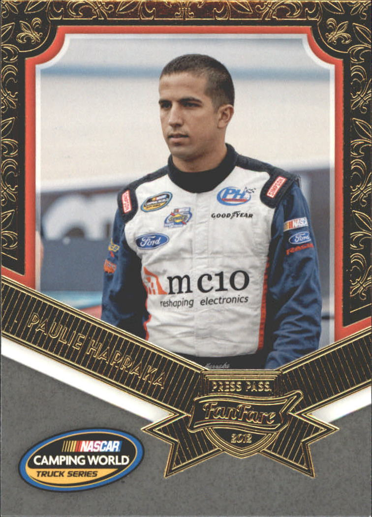 2012 Press Pass Fanfare #69 Paulie Harraka CWTS RC