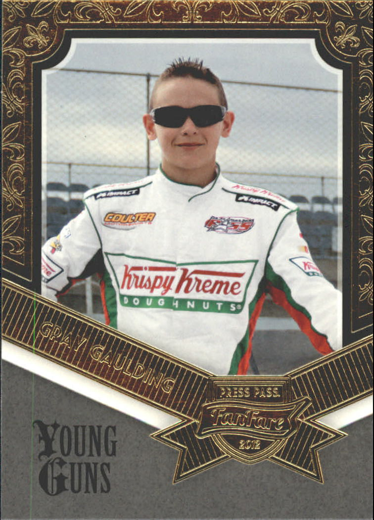 2012 Press Pass Fanfare #78 Gray Gaulding YG RC