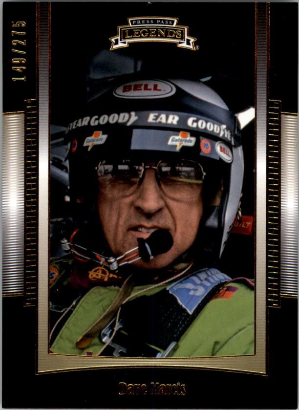 2012 Press Pass Legends Gold #23 Dave Marcis