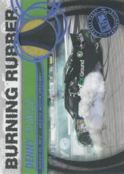 2013 Press Pass Burning Rubber Blue #BRDH2 Denny Hamlin's Car