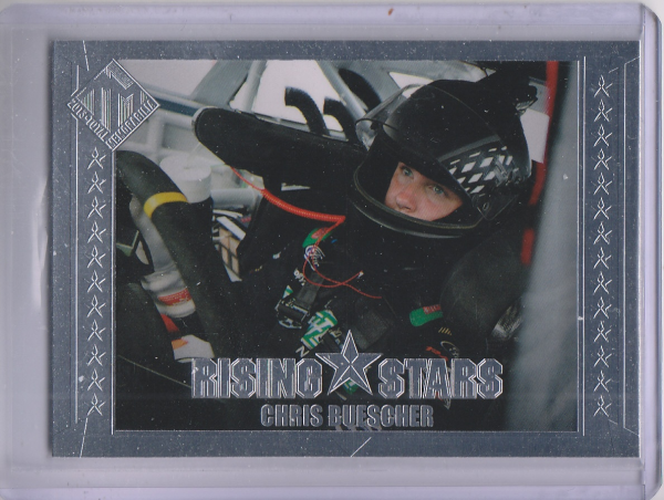 2013 Total Memorabilia #45 Chris Buescher RS RC