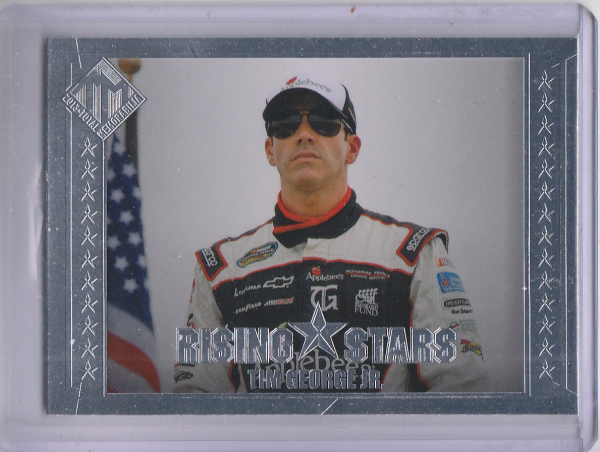 2013 Total Memorabilia #46 Tim George Jr. RS RC