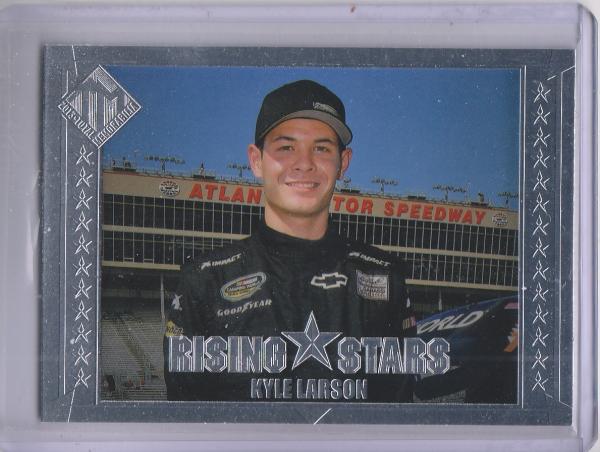 2013 Total Memorabilia #47 Kyle Larson RS RC