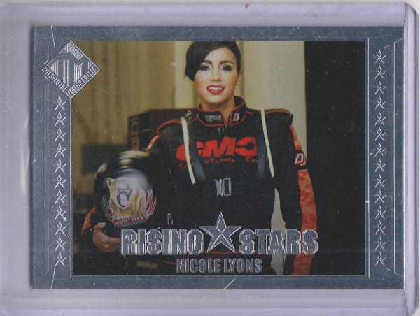 2013 Total Memorabilia #48 Nicole Lyons RS RC