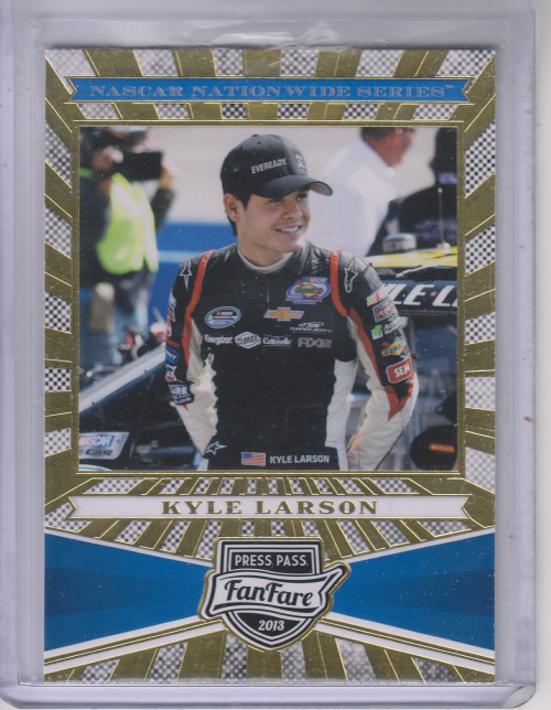 2013 Press Pass Fanfare #68 Kyle Larson NNS RC