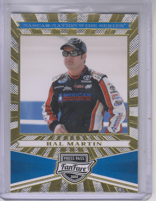 2013 Press Pass Fanfare #70 Hal Martin NNS RC