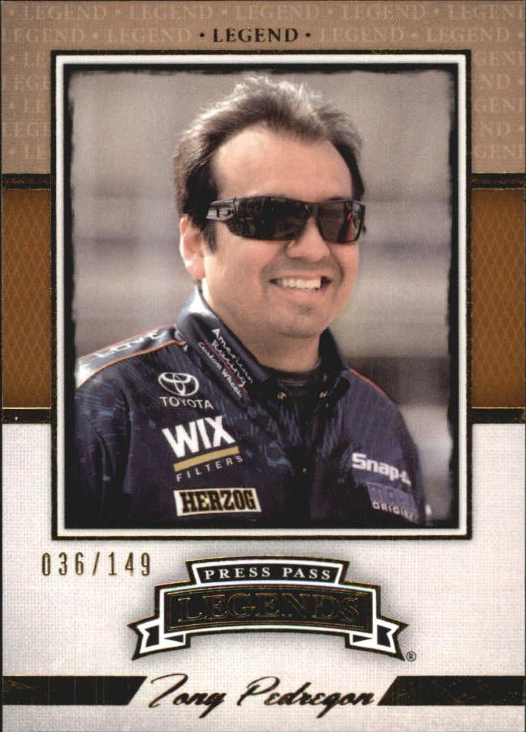 2013 Press Pass Legends Gold #27 Tony Pedregon