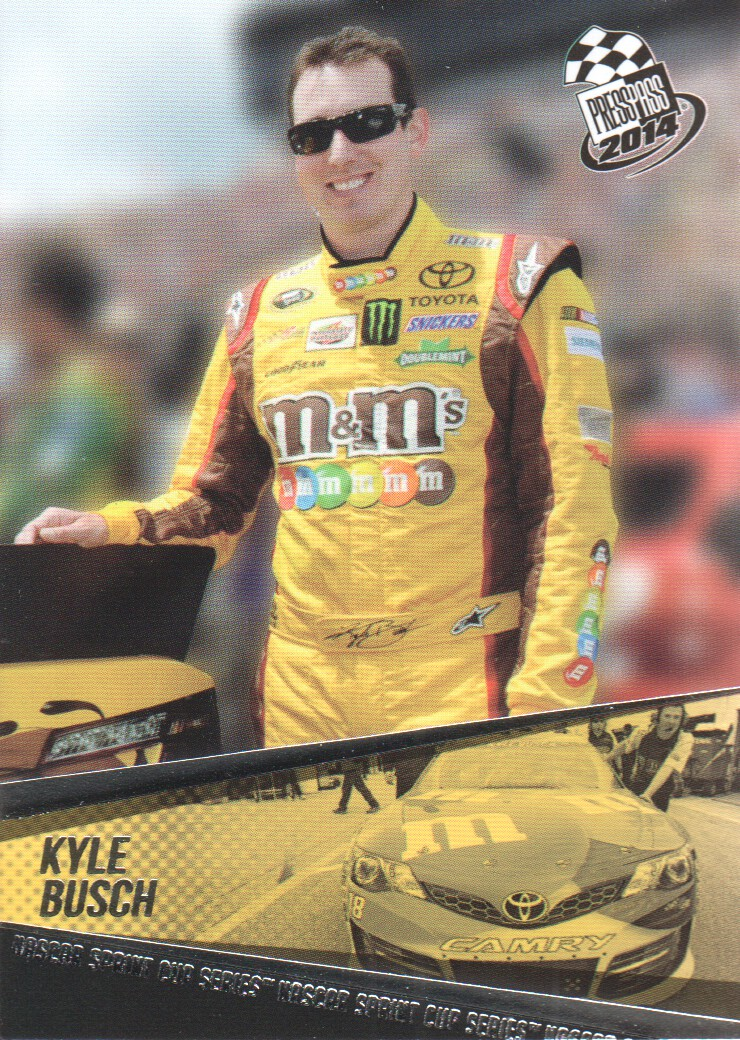 2014 Press Pass #7 Kyle Busch