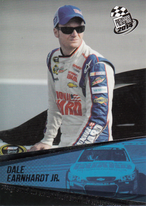 2014 Press Pass #8 Dale Earnhardt Jr.