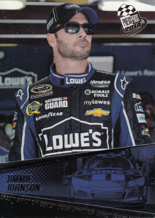 2014 Press Pass #17 Jimmie Johnson