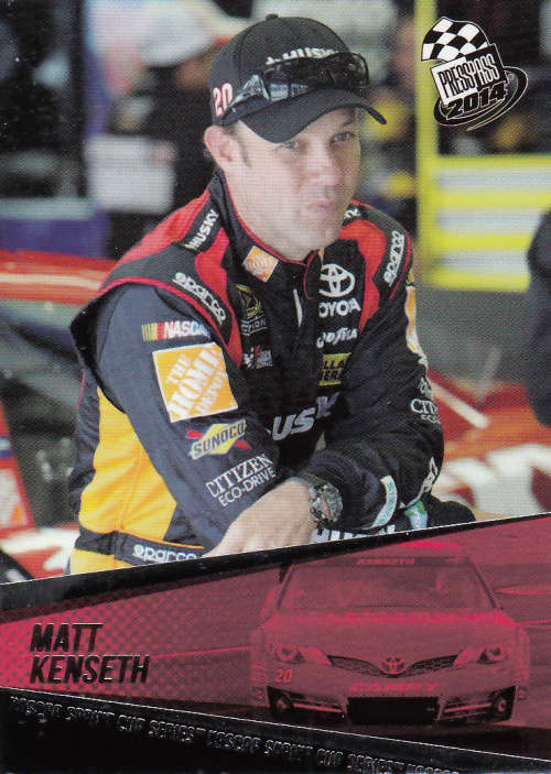 2014 Press Pass #19 Matt Kenseth