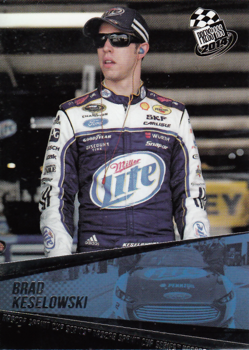 2014 Press Pass #20 Brad Keselowski