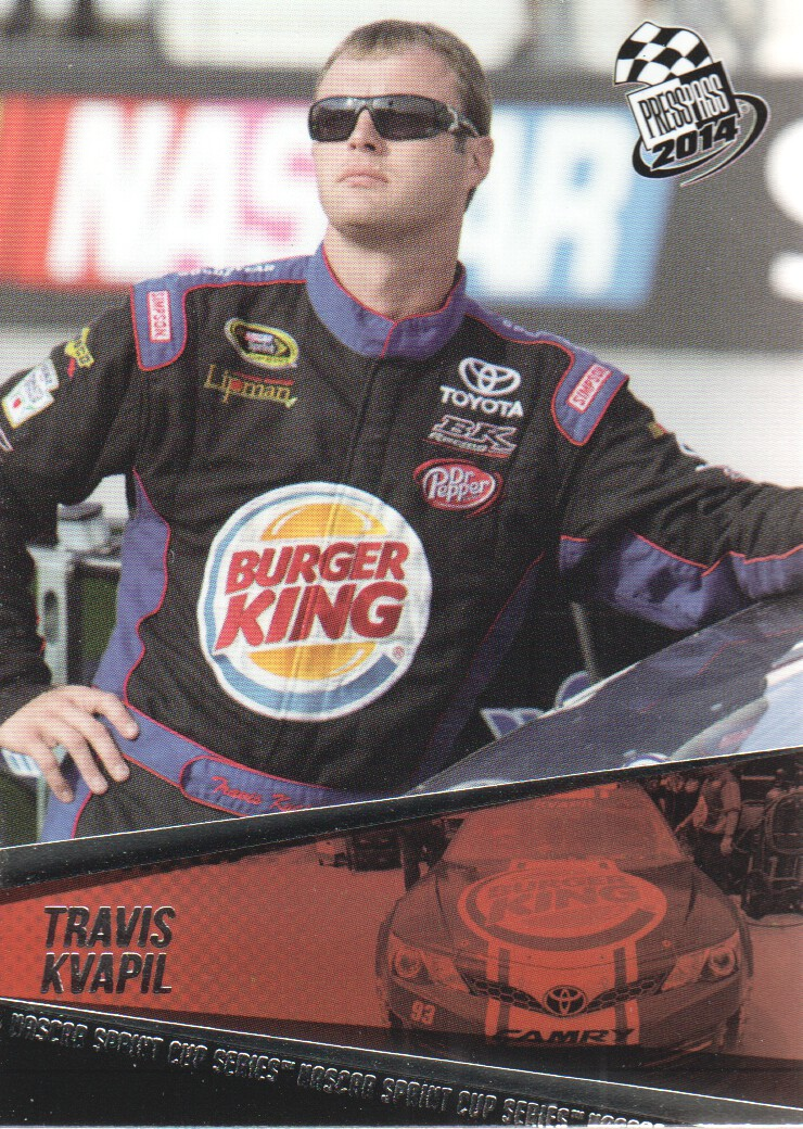 2014 Press Pass #21 Travis Kvapil