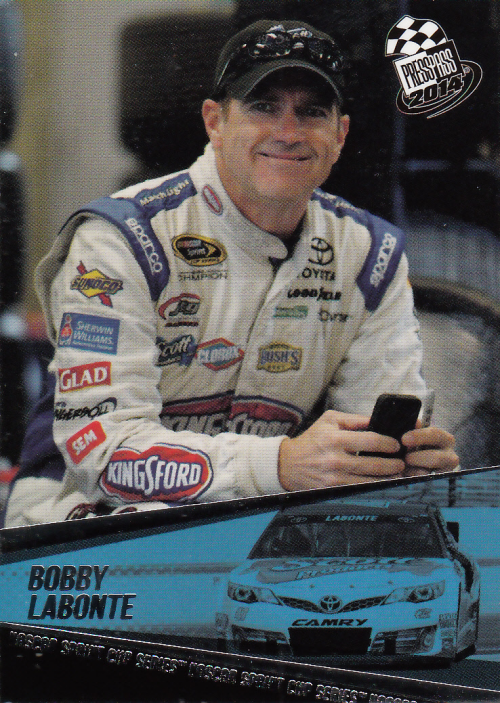 2014 Press Pass #22 Bobby Labonte