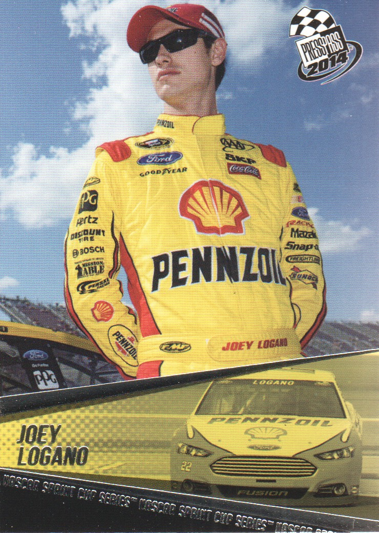 2014 Press Pass #23 Joey Logano