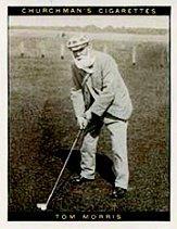 1928 Churchman's Famous Golfers Large #8 Tom Morris