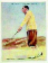 1930 Wills Cigarettes Famous Golfers #7 Walter Hagen