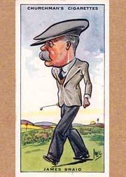 1931 Churchman's Prominent Golfers Small #5 James Braid