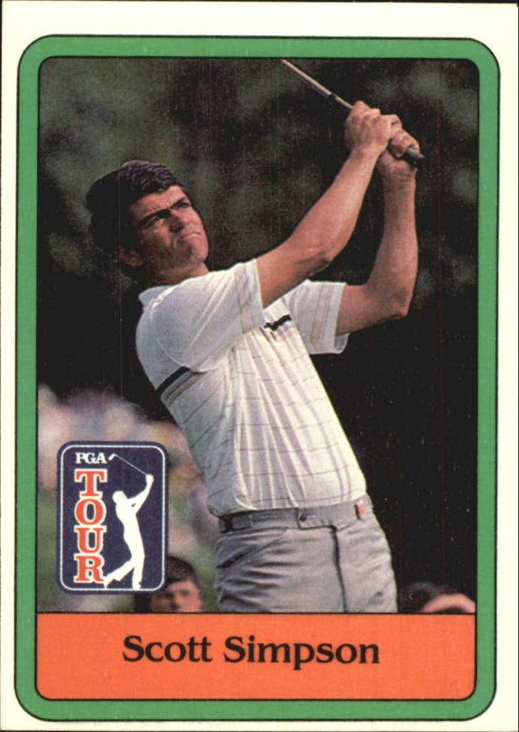 1981 Donruss #24 Scott Simpson RC