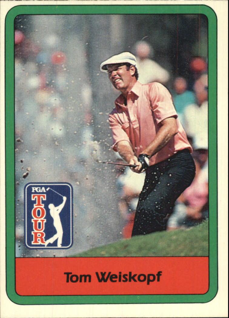 1982 Donruss #17 Tom Weiskopf
