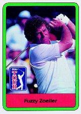 1982 Donruss #19 Fuzzy Zoeller