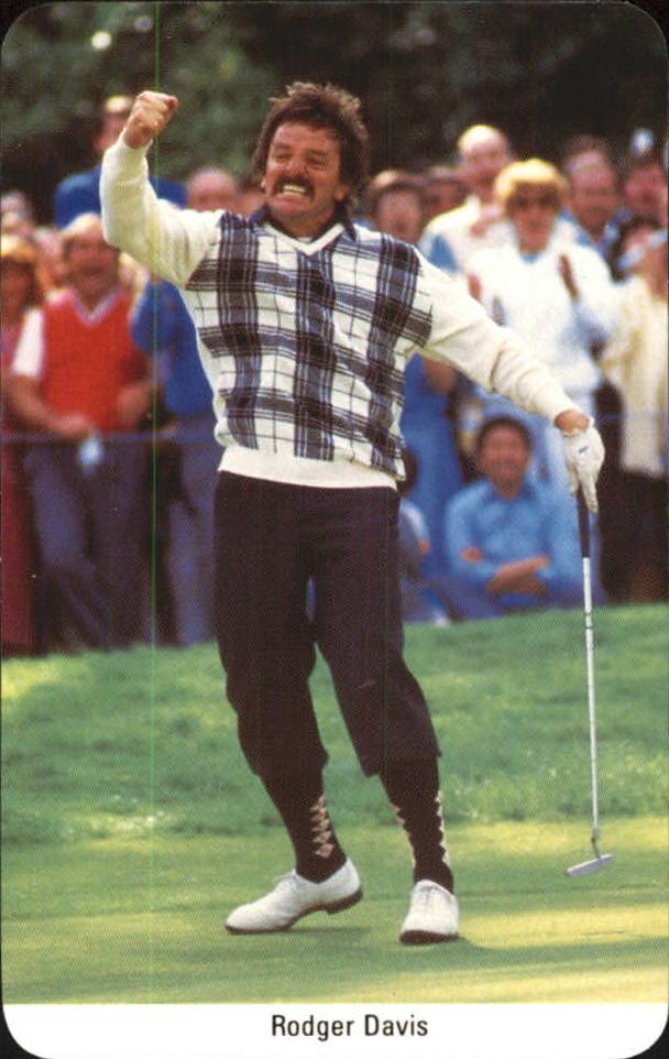 1986-87 Fax-Pax #6 Rodger Davis