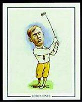 1989 GB & TW Golfing Greats #2 Bobby Jones