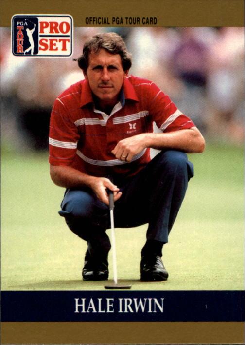 1990 Pro Set #1 Hale Irwin