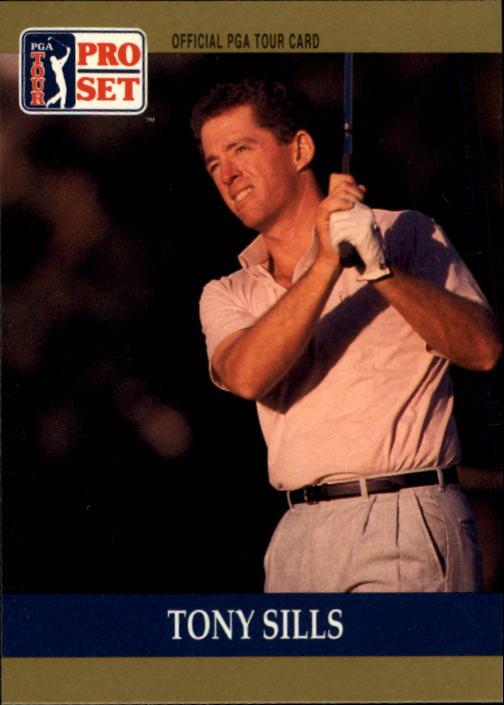 1990 Pro Set #2 Tony Sills RC