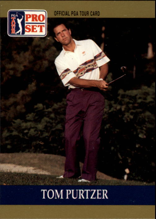 1990 Pro Set #5 Tom Purtzer