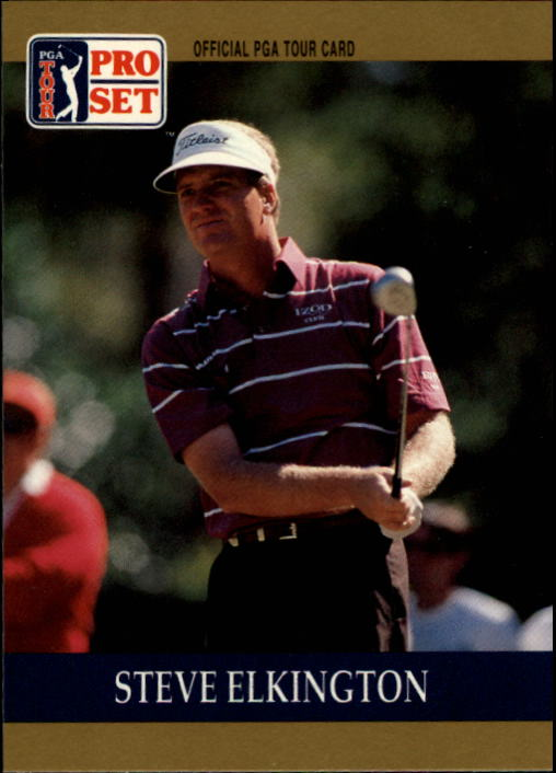 1990 Pro Set #10 Steve Elkington RC