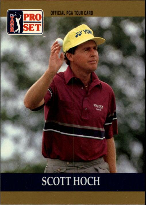 1990 Pro Set #13 Scott Hoch RC