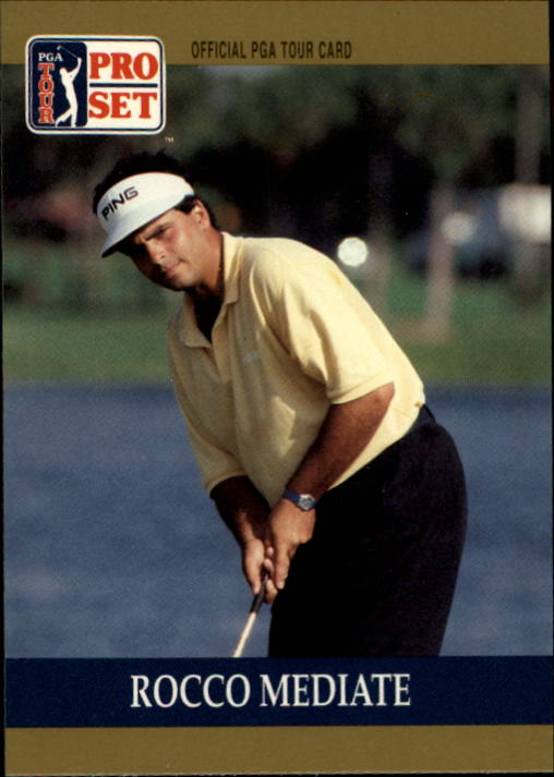 1990 Pro Set #15 Rocco Mediate RC