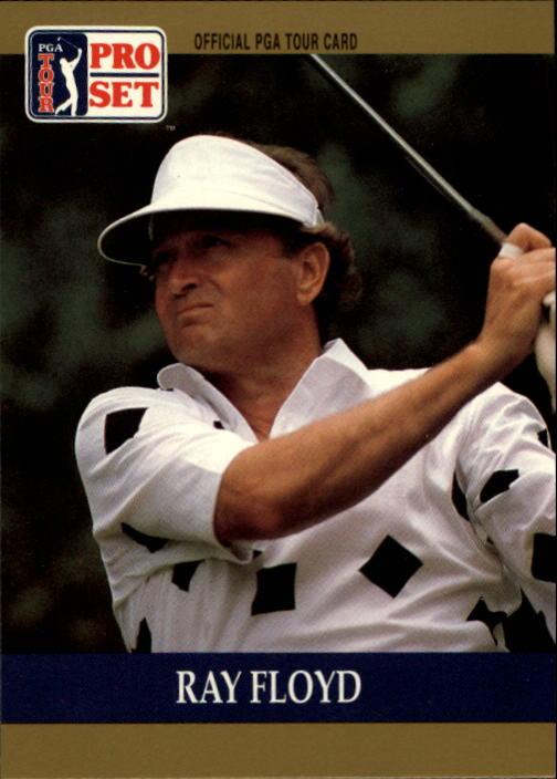 1990 Pro Set #17 Raymond Floyd