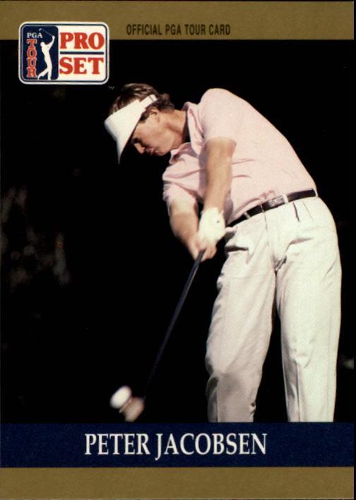 1990 Pro Set #19 Peter Jacobsen