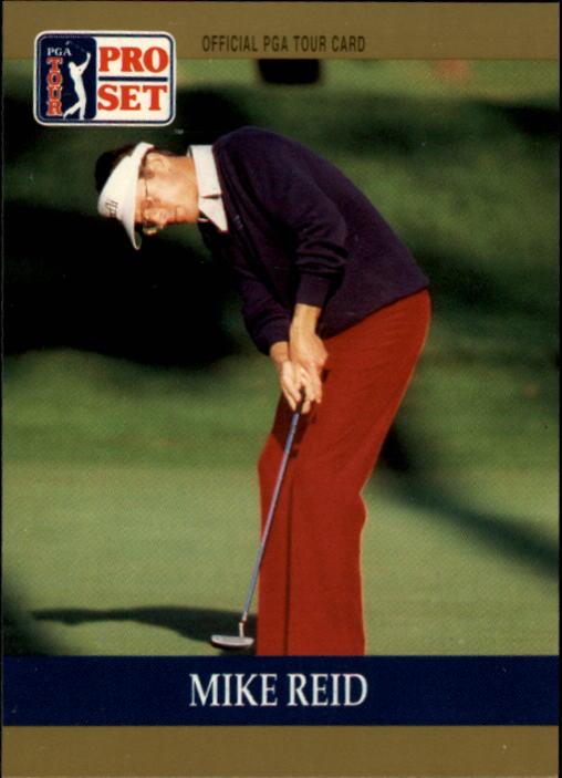 1990 Pro Set #26 Mike Reid