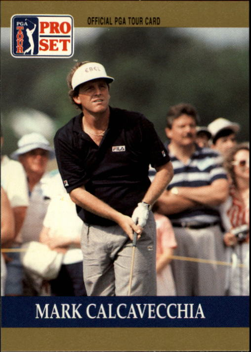 1990 Pro Set #31 Mark Calcavecchia RC