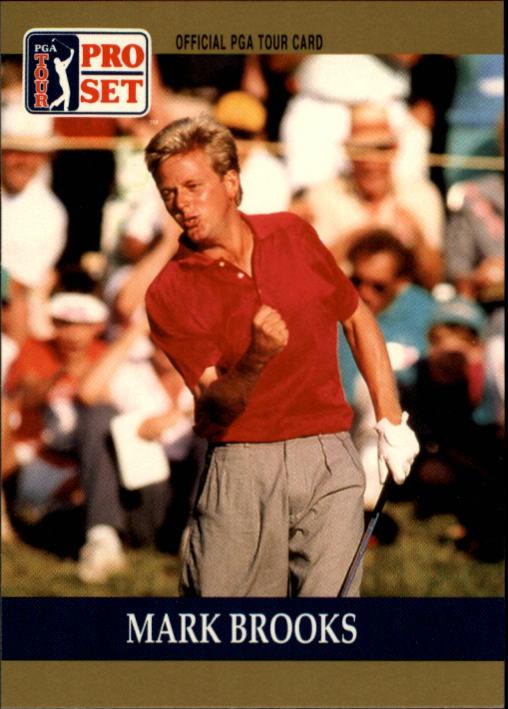 1990 Pro Set #32 Mark Brooks RC