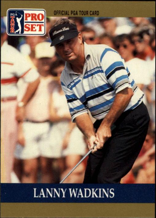 1990 Pro Set #35 Lanny Wadkins