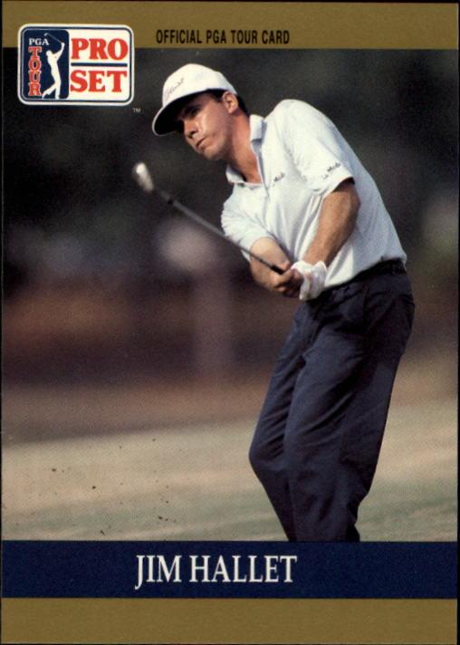 1990 Pro Set #37 Jim Hallet RC