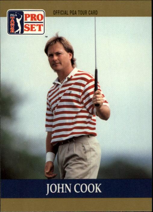 1990 Pro Set #40 John Cook