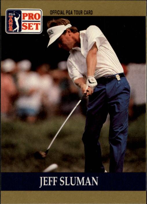 1990 Pro Set #45 Jeff Sluman RC