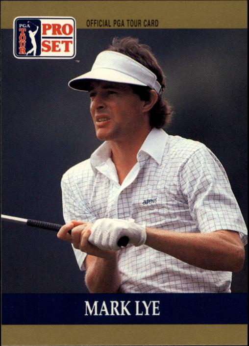 1990 Pro Set #54 Mark Lye